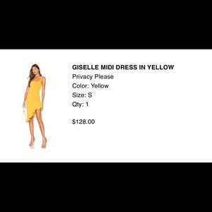 Mustard cocktail dress. New with tags. Never worn!